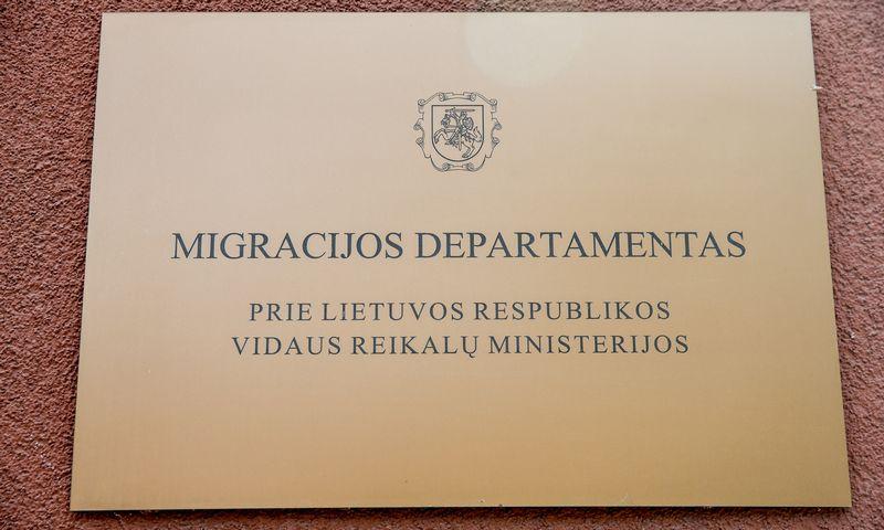Užsieniečio prašymas įgyti e. rezidento statusą būtų teikiamas Migracijos departamentui. Vladimiro Ivanovo (VŽ) nuotr.