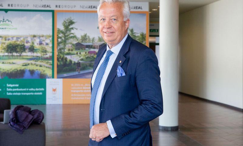 Kjetilas Tonningas, Europos statybos pramonės federacijos (FIEC) prezidentas. Juditos Grigelytės (VŽ) nuotr.