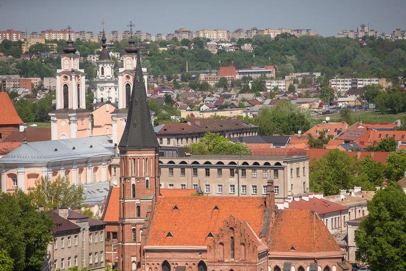 Kauno panorama. Vladimiro Ivanovo (VŽ) nuotr.