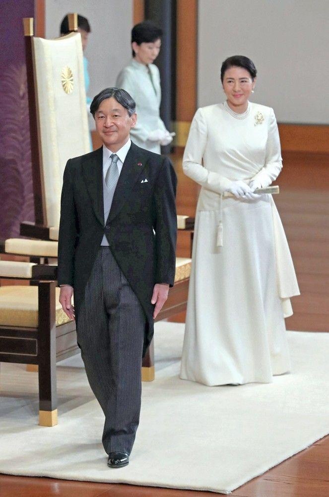Naujasis Japonijos imperatorius įžengė į Chrizantemų sostą