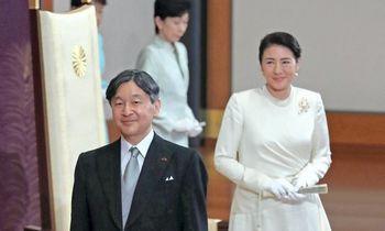 Prezidentė pasveikino naująjį Japonijos imperatorių įžengus į Chrizantemų sostą