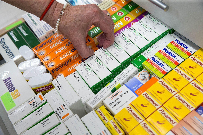 """Kompensuojamų vaistų daugiausiai pardavė """"Eurovaistinė"""""""