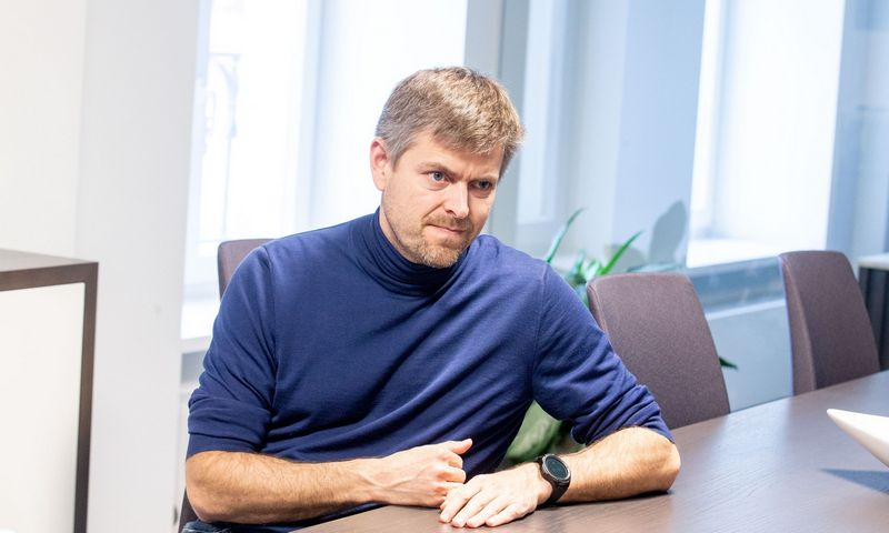 """Ilja Laursas, """"Nextury Ventures"""" valdybos pirmininkas. Juditos Grigelytės (VŽ) nuotr."""