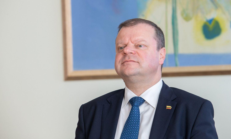 S. Skvernelis kritikuoja buvusias valdžias už nesikalbėjimą dėl AstravoAE