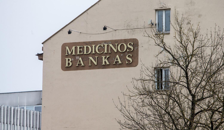 Medicinos bankas – kol kas be paveldėtojo