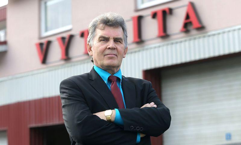 """Vytautas Ramanauskas, UAB """"Vytrita"""" generalinis direktorius. Algimanto Barzdžiaus nuotr."""