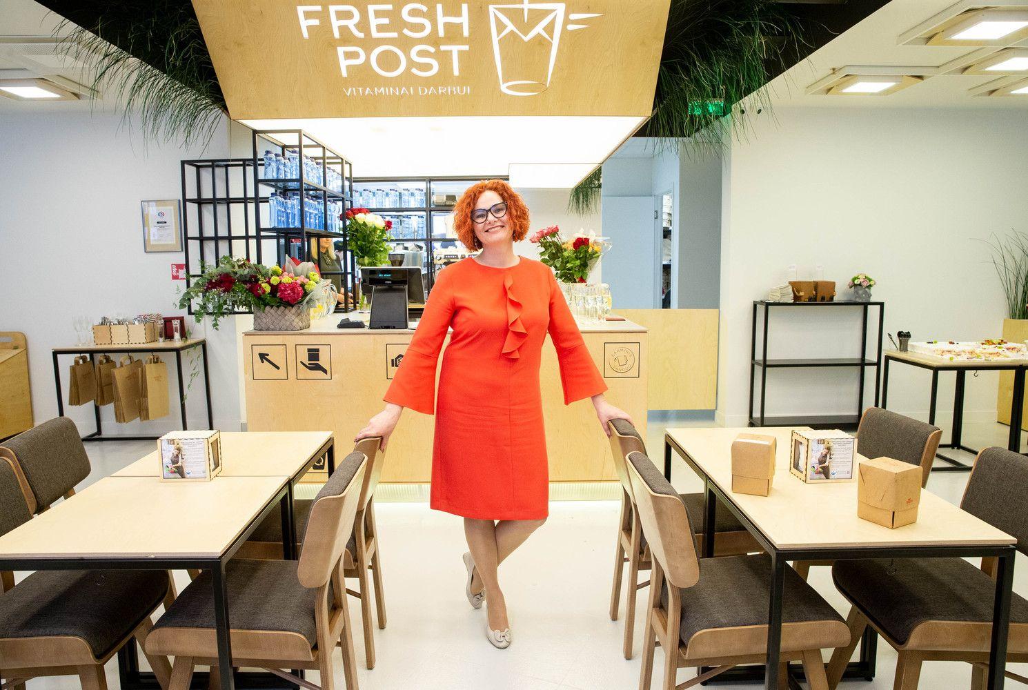 """Iš pagrindinio verslo priedo tapo savarankiška franšize: atidarė antrą """"Fresh Post"""" salotų barą"""