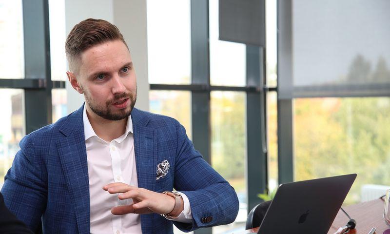 """Donatas Voveris, UAB """"Švaros broliai"""" vykdomasis direktorius. , Vladimiro Ivanovo (VŽ) nuotr."""