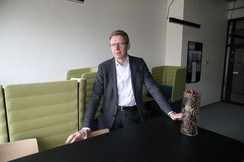 """Gintaras Zdanys, """"Narbutas International"""" pardavimų vadovas. Vladimiro Ivanovo (VŽ) nuotr."""