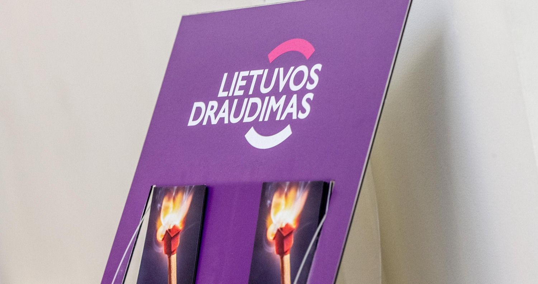 """""""Lietuvos draudimo"""" pelnas pernai augo 34% iki 17,5 mln. Eur"""