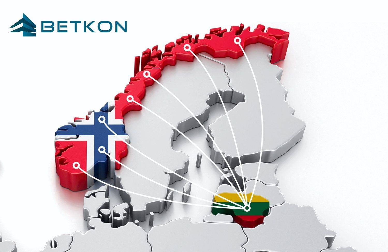 BETKON – pagalba verslo plėtrai Norvegijoje