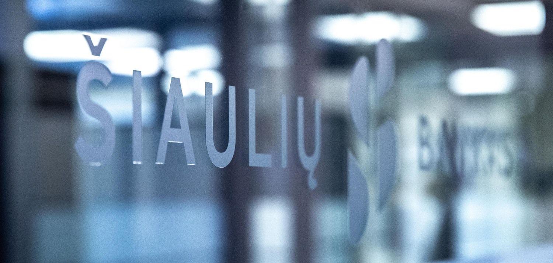 Šiaulių banko rezultatuose – netipinės veiklos poveikis