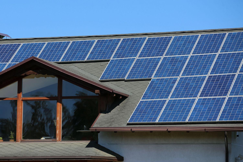 Elektrą gaminančių vartotojų skaičius padvigubėjo