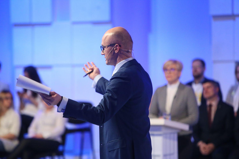 Daugiausiai dėmesio sulaukė kandidatų į prezidentus debatai apie ekonomiką