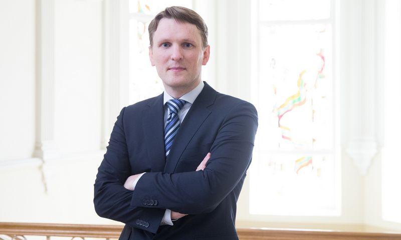 Tomas Garbaravičius, Lietuvos banko valdybos narys. Juditos Grigelytės (VŽ) nuotr.