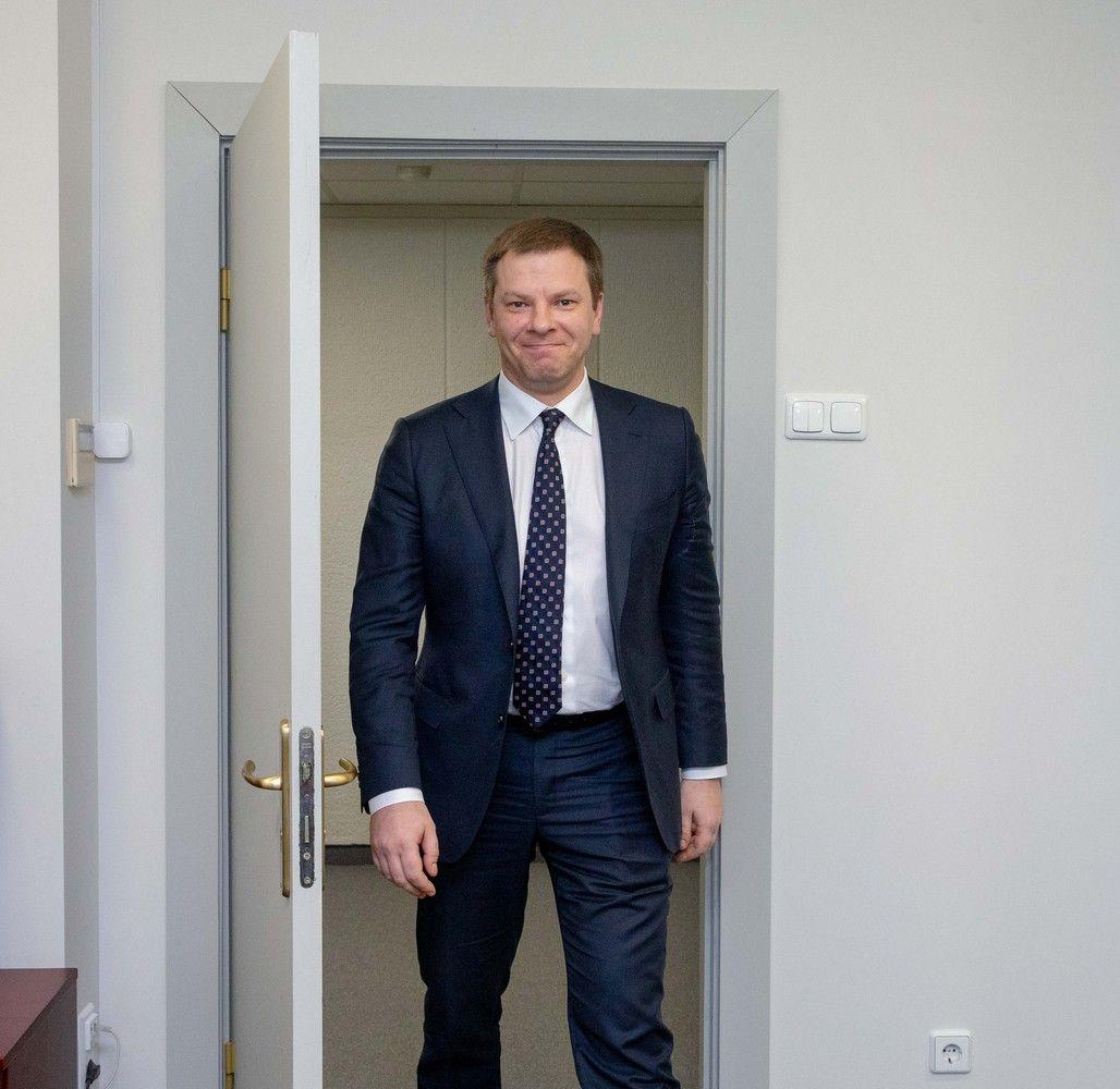 Ministras V. Šapoka tapo ERPB valdytojų tarybos vicepirmininku
