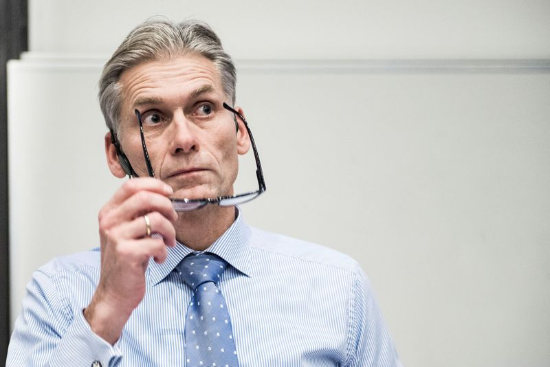 "Thomas Borgenas, buvęs ""Danske Bank"" vadovas. (""Reuters"" / ""Scanpix"") nuotr."