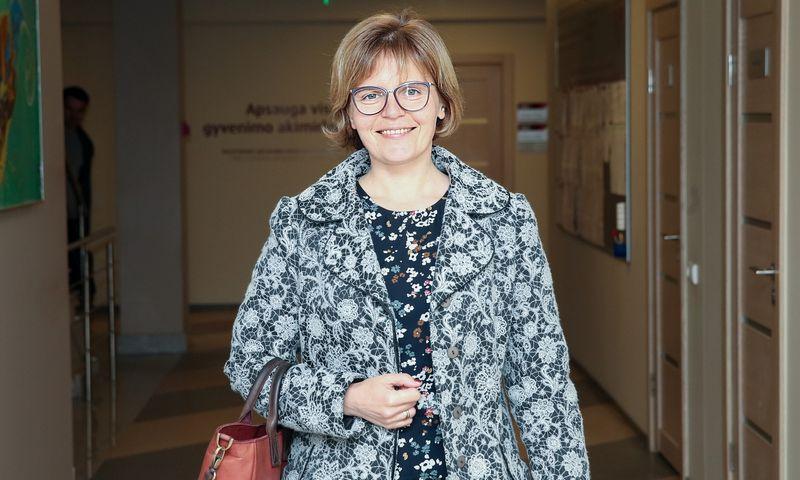"""Julita Varanauskienė, """"Sodros"""" direktorė. Vladimiro Ivanovo (VŽ)"""