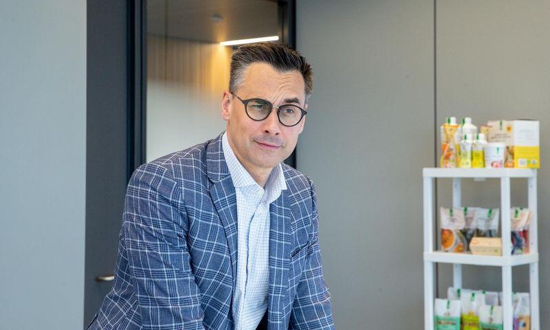 """Kęstutis Juščius, """"Auga Group"""" generalinis direktorius. Juditos Grigelytės (VŽ) nuotr."""