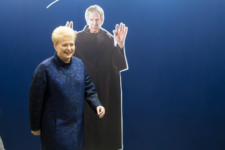 Leidykla: knygos apie D. Grybauskaitę institucijos neremia