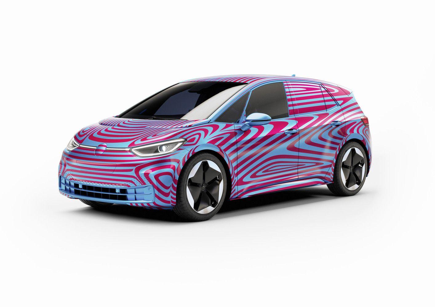 """Lietuvoje išgraibstytos rezervacijos naujajam """"Volkswagen ID.3"""" elektromobiliui"""