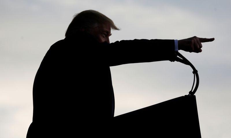 """Donaldas Trumpas. Kevino Lamarque (""""Reuters"""" / Scanpix"""") nuotr."""