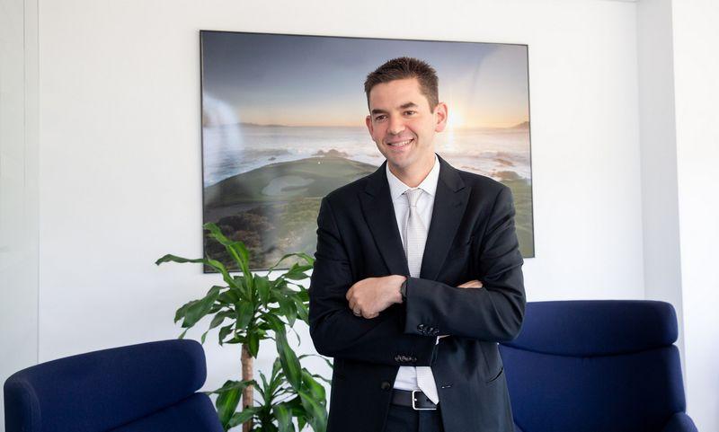 Jaredas Isaacmanas, verslininkas, multimilijonierius, atsiskaitymo verslo ir aviacijos magnatas. Juditos Grigelytės (VŽ) nuotr.
