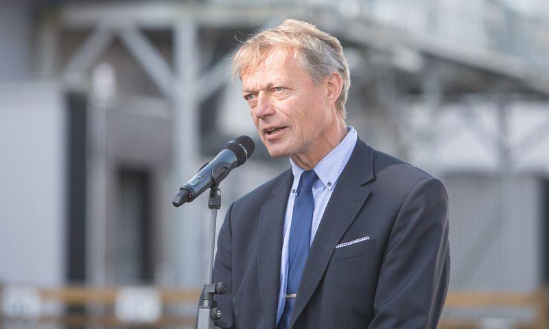Johnas Afsethas, BSP valdybos narys. Juditos Grigelytės (VŽ) nuotr.