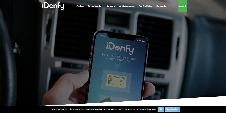 "Startuolis ""iDenfy"" sukirto rankomis su ""INVL Asset Management"""