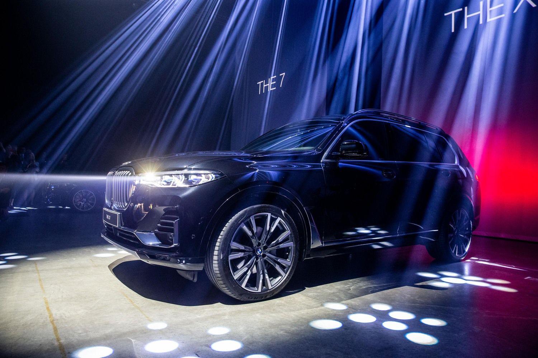 Vilniuje – trijų itin prabangių BMW modelių pristatymas