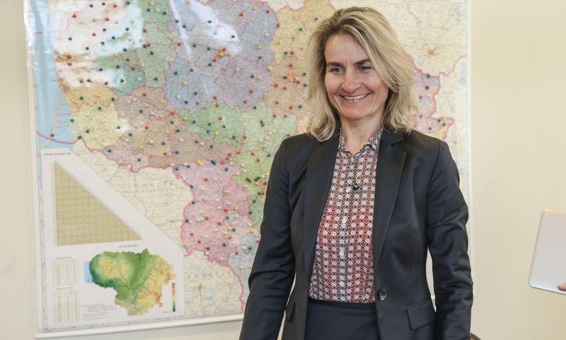 Asta Sungailienė, Lietuvos pašto generalinė direktorė. Vladimiro Ivanovo (VŽ) nuotr.