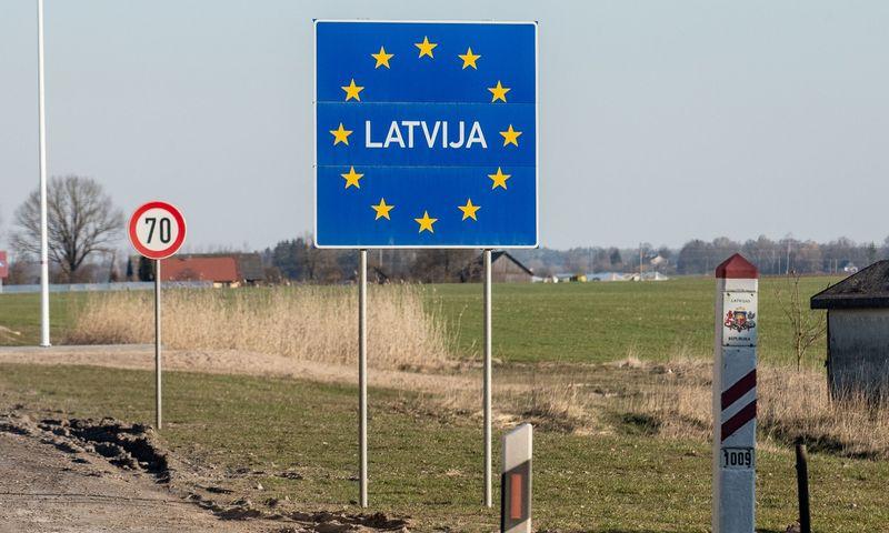 Latvijos pasienis. Juditos Grigelytės (VŽ) nuotr.