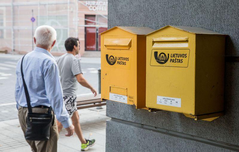 Dvi Lietuvos pašto bendrovės bus apjungtos į vieną. Juditos Grigelytės (VŽ) nuotr.