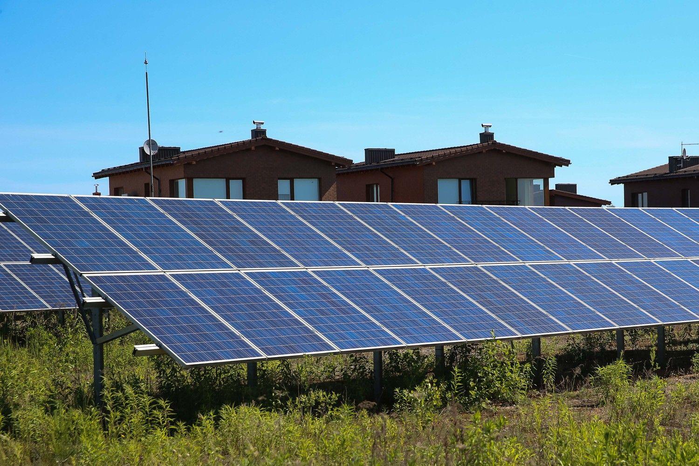 Mažoms saulės jėgainėms – dar 4,5 mln. Eur paramos