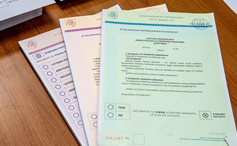 Referendumų Lietuvoje istorija: tik trečdalis buvo rezultatyvūs