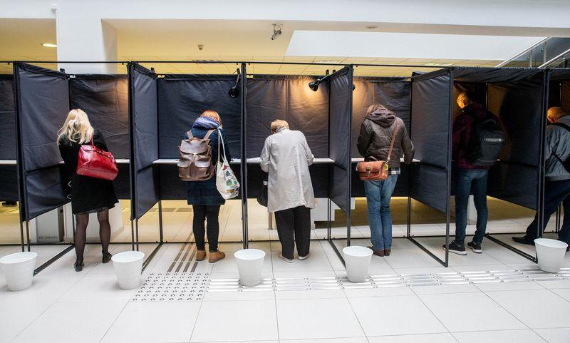 2019 m. gegužės 12 d. Respublikos Prezidento rinkimai, referendumas dėl Konstitucijos 12 str. pakeitimo ir referendumas dėl Konstitucijos 55 str. pakeitimo. Juditos Grigelytės (VŽ) nuotr.