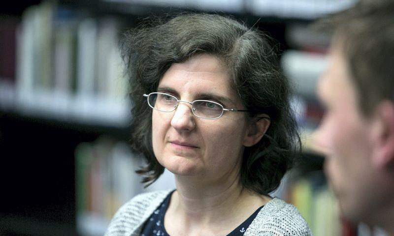 Ainė Ramonaitė, Vilniaus universiteto Tarptautinių santykių ir politikos mokslų instituto politologė. Juliaus Kalinsko (15min.lt/scanpix) nuotr.