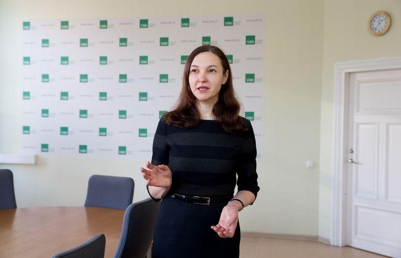 Vaimira Jakienė, VMI Didžiųjų mokesčių mokėtojų stebėsenos ir konsultavimo departamento direktorė. Juditos Grigelytės (VŽ) nuotr.