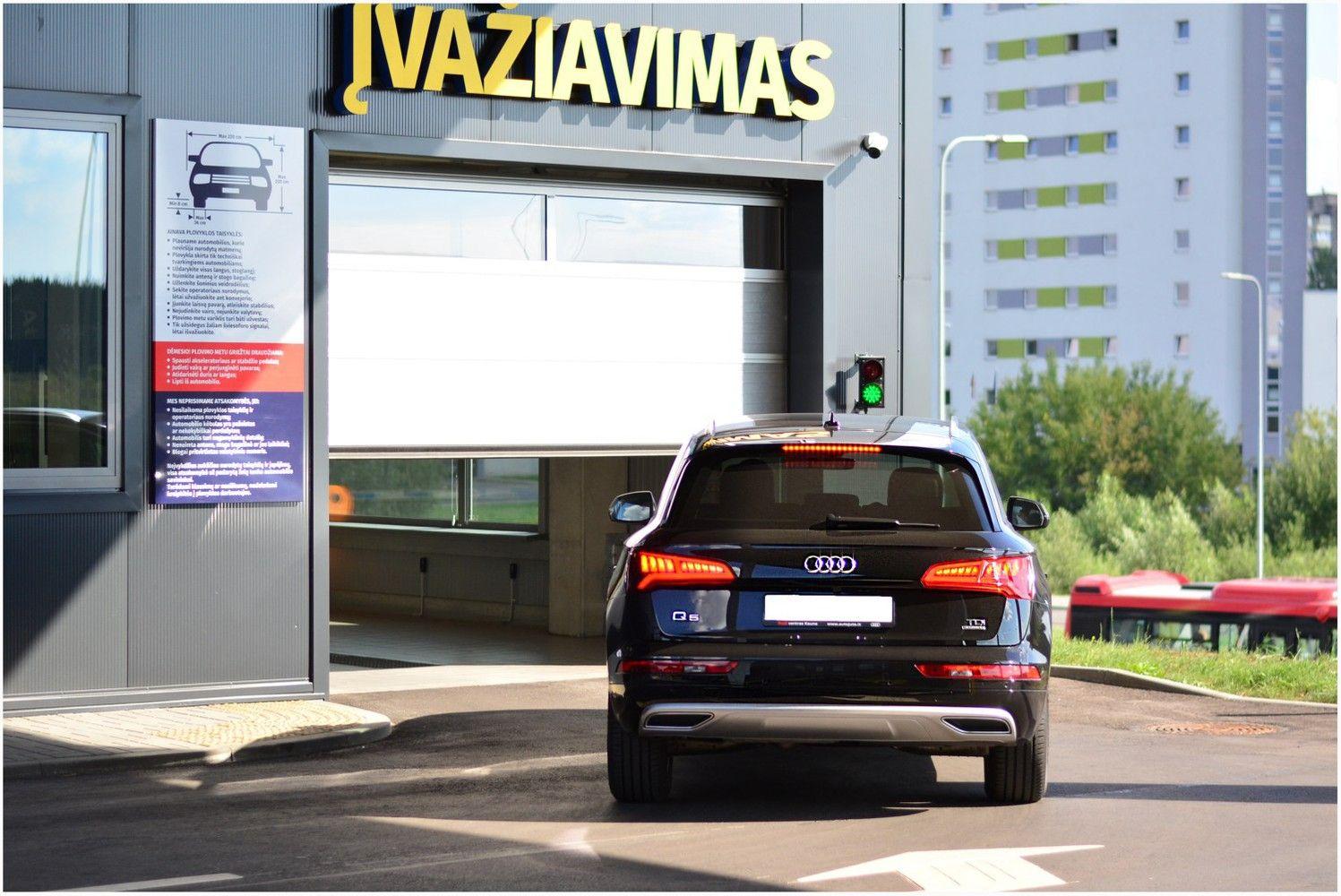 """""""Ainava"""" Klaipėdoje statys tekstilinę automobilių plovyklą už 2 mln. Eur"""