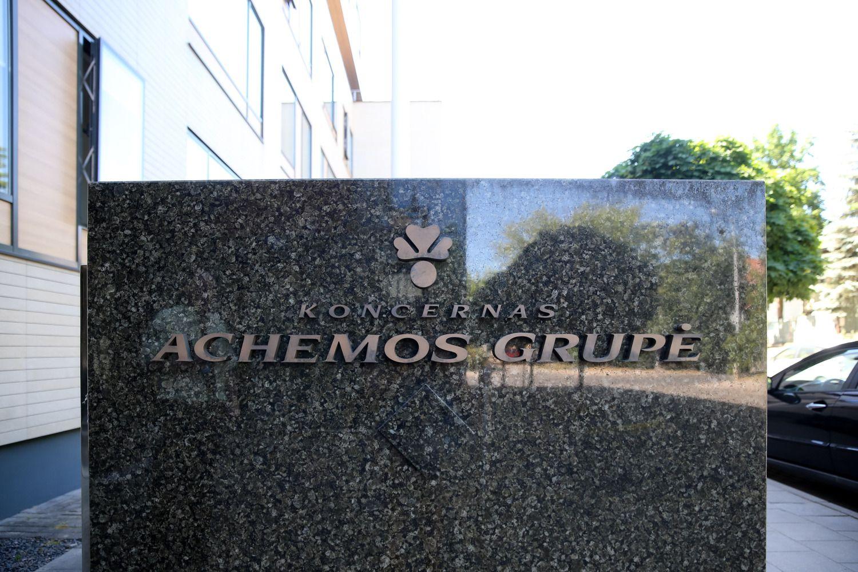 """Achemos grupės""EBITDA traukėsi 38%"