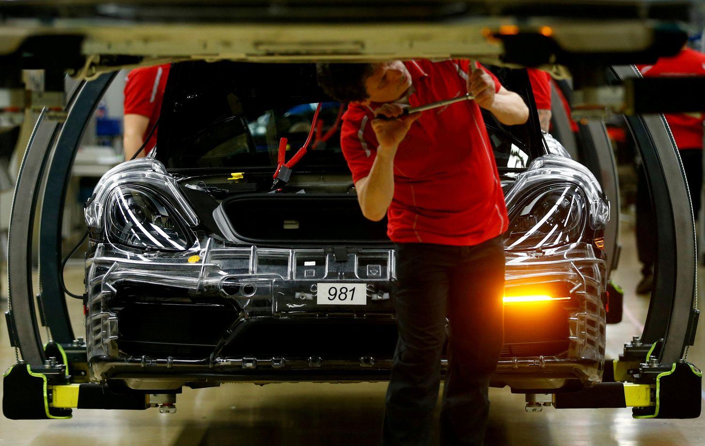 JAV ir Kinijos konfliktas vėl pakirto lūkesčius dėl Vokietijos ekonomikos