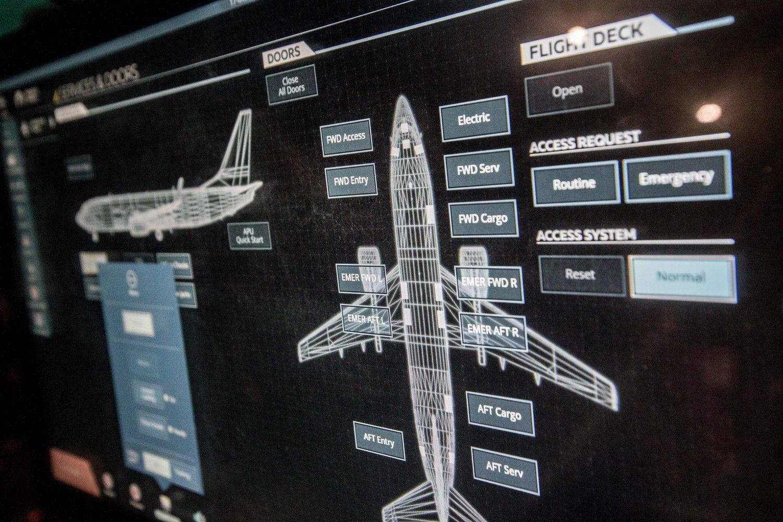 """Turkish Airlines"" pilotus ruoš ""BAA Training"""