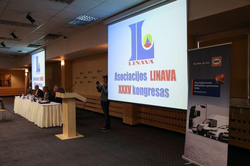 """Trečiadienį pakartotiniame """"Linavos"""" kongrese skelbiami prezidento rinkimai. Vladimiro Ivanovo (VŽ) nuotr."""