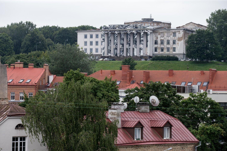Vilniaus miesto taryba pritarė Profsąjungų rūmų griovimui