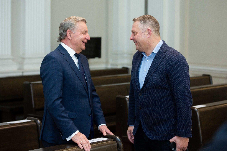 Eksministras R. Sinkevičius: R. Kurlianskis nebuvo iniciatyvus dėl kelio Vilnius – Utena
