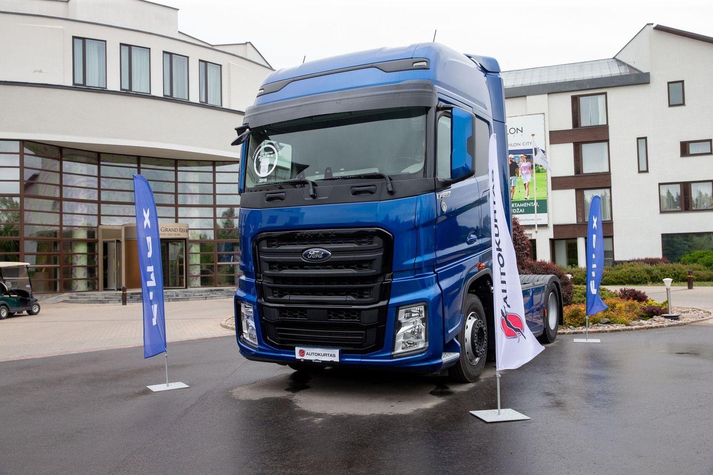 """""""Ford Trucks"""" ateina į Lietuvos rinką"""