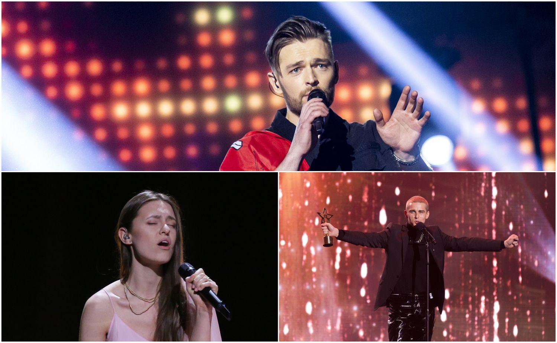 """J. Veklenko užgožia ankstesnės """"Eurovizijos"""" žvaigždės"""