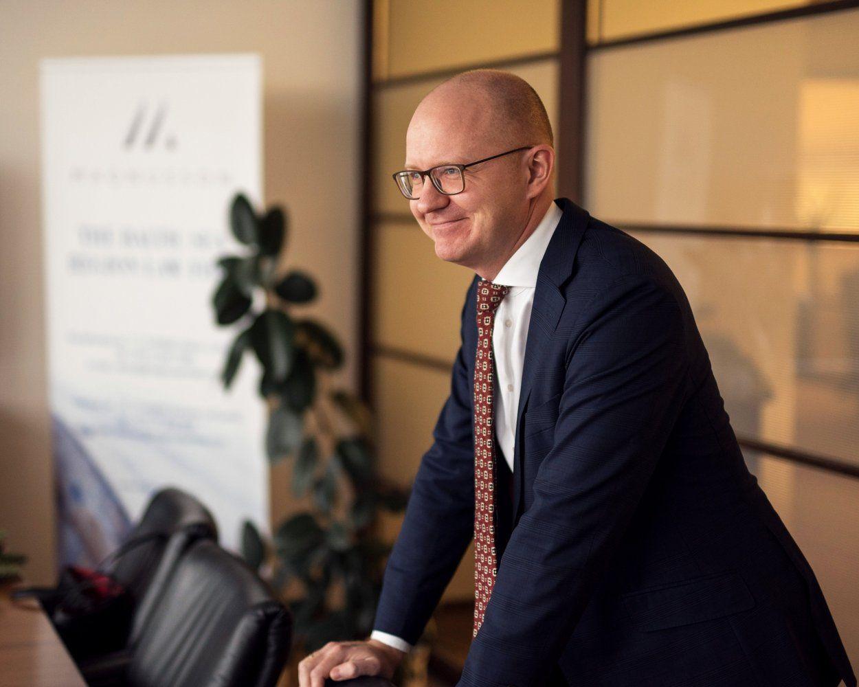 """Paskirtas naujas advokatų kontoros """"Magnusson"""" vadovas"""