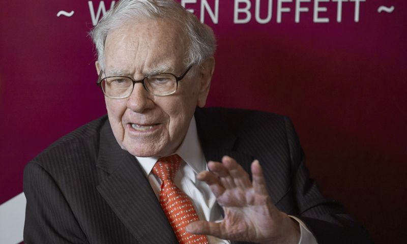 "Warrenas Buffettas. Nati Harnik (AP / ""Scanpix"") nuotr."