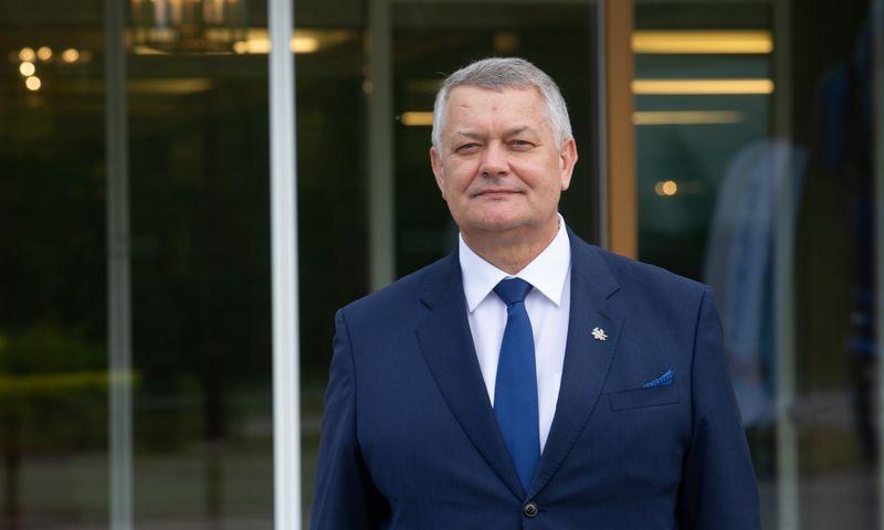"""Romas Austinskas, naujasis """"Linavos"""" prezidentas. Juditos Grigelytės (VŽ) nuotr."""